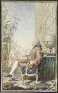 Buffon, aquarelle de Carmontel