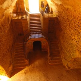 L'escalier monumental, comme au spectacle