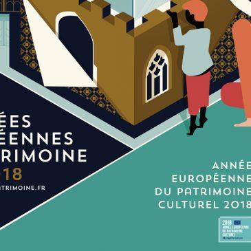 Journées du Patrimoine, le 15 et 16 septembre