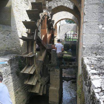 Lancement de chantier de restauration de la grande roue, 12 septembre.