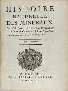 Histoire naturelle des minéraux