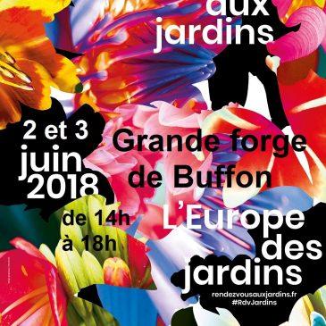 Le we du 2 et 3 juin, ce sont les RDV aux jardins